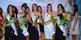 Le 5 ragazze con fascia a Miss Summer Salento 2014