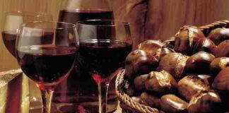 castagn e vino