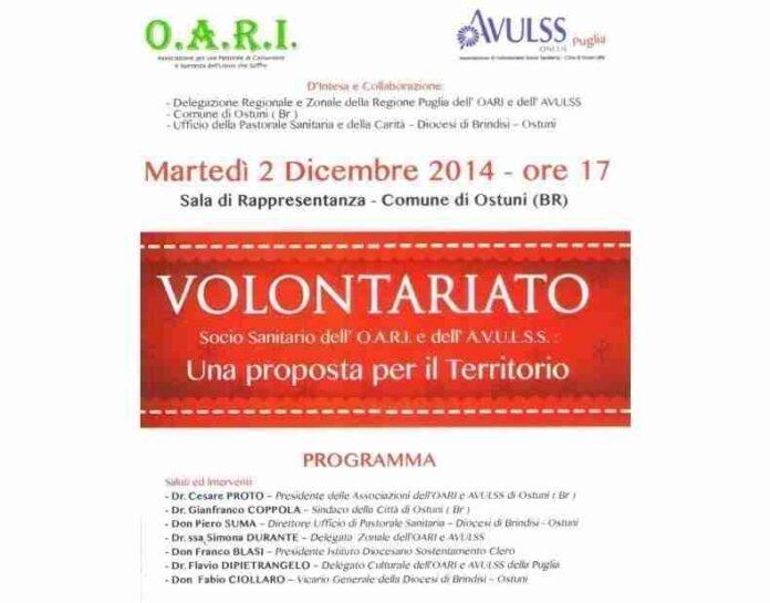 Volontariato 2 dicembre