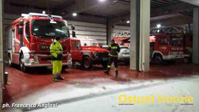 Volontari a Lavoro per Neve Ostuni 2