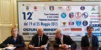Ostuni 12° edizione torneo città di Ostuni Brindisi cerimonia inaugurale