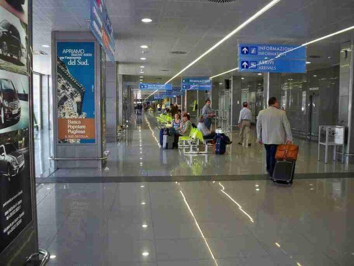 Aeroporto Brindisi BDS interno