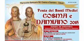 Santi Medici 2015 Il programma