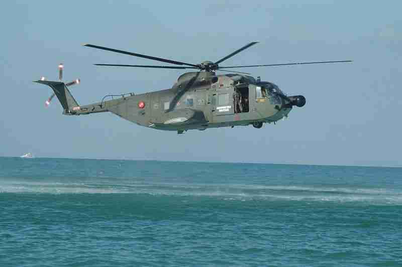 Elicottero SAC Brindisi