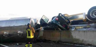 Incidente sulla superstrada Torre Spaccata 4