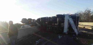 Incidente sulla superstrada Torre Spaccata 5