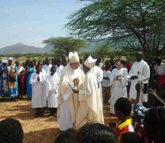 Mons. Giuseppe Satriano Kenya 2