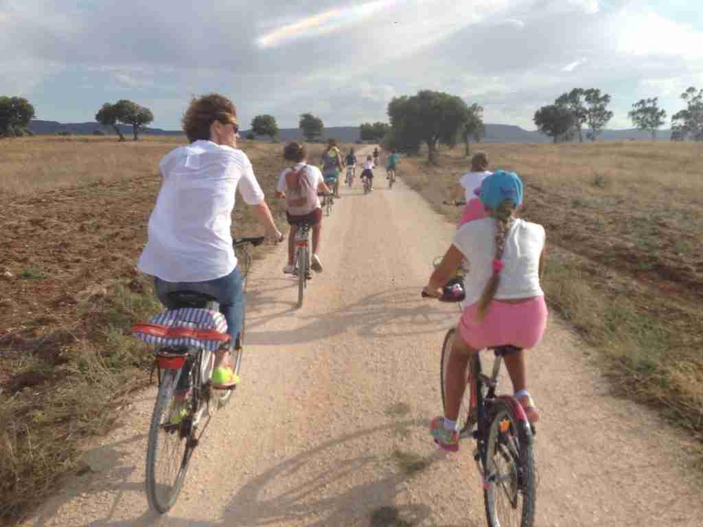 itinerari ciclabili Traiana Parco dune costiere