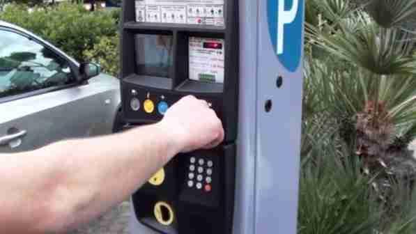 Parcheggi Blu Pagamento