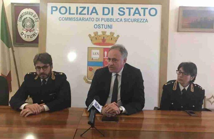 Maurizio Masciopinto Questore Ostuni 2