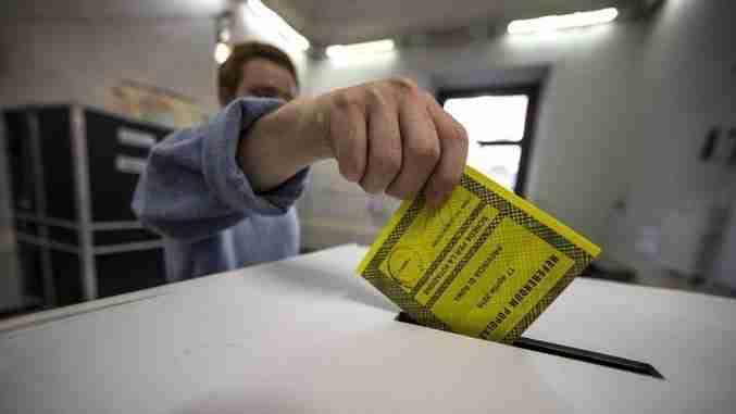 referendum votazione seggio