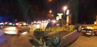 Brindisi Ostuni incidente 22 gennaio 1