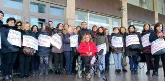 Brindisi Ostuni proteste cooperativa Rssa Pinto 21 febbraio 1