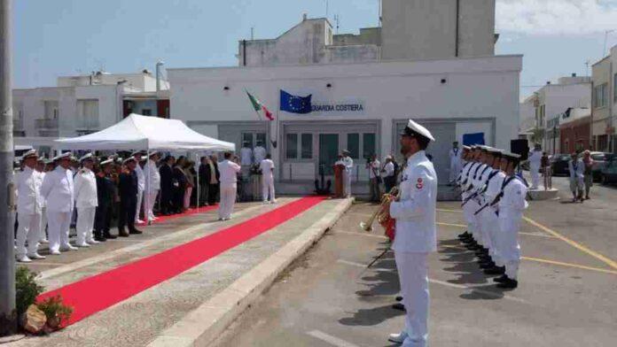 Inaugurazione sede Guardia Costiera