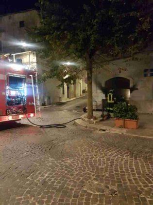 Incendio Bar Corso Mazzini