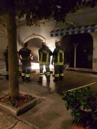 Incendio Bar Corso Mazzini3