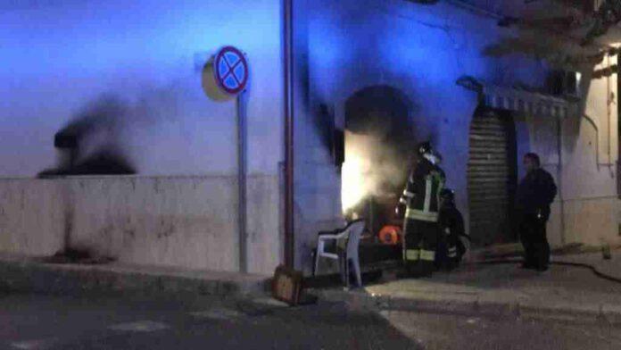 Incendio Bar Corso Mazzini4