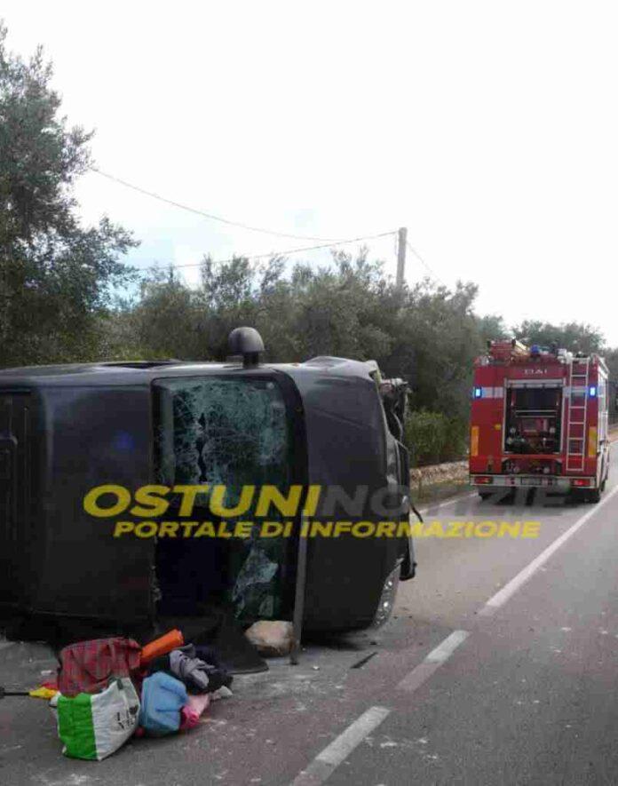Incidente Stradale Ostuni Francavilla