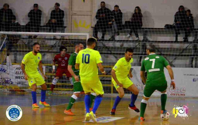 Olympique Ostuni VS Neapolis Campionato 11