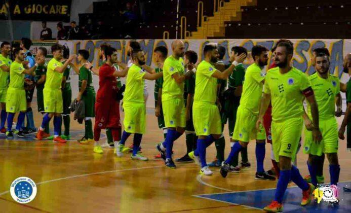 Olympique Ostuni VS Neapolis Campionato 3
