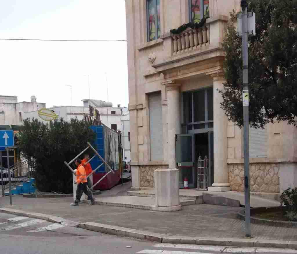 Edificio Pessina Ostuni Lavori