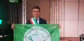 Luigi Nacci ritira la Bandiera Verde