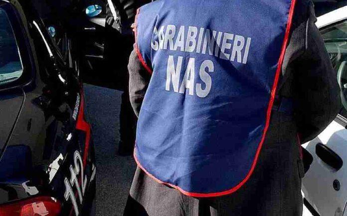 Il Nucleo Carabinieri del Nas