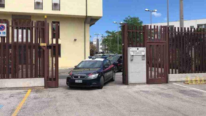 La Stazione dei Carabinieri di Ostuni