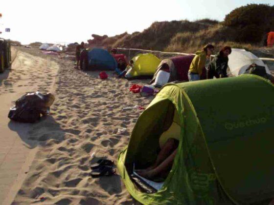 Parco delle Dune, controlli contro i bivacchi notturni delle serate d'agosto