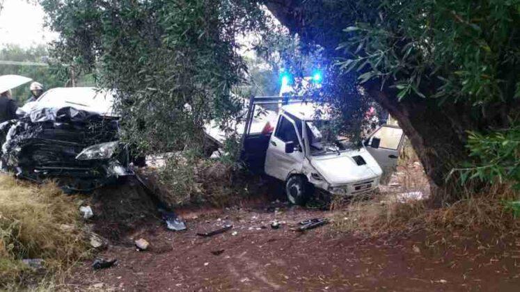 Incidente lungo la provinciale Ostuni - Carovigno, tre feriti lievi