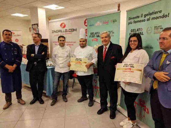 """Al """"Gelato Festival Challenge"""" trionfa il gelato di Ciccio in Piazza a Ostuni"""
