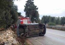 Incidente Stradale Ostuni Fasano