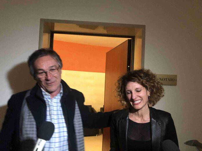 Domenico Tanzarella e il Notaio Stefania Errico