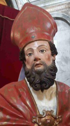 La Statua rupestre di Sant'Oronzo torna in Cattedrale dopo il restauro
