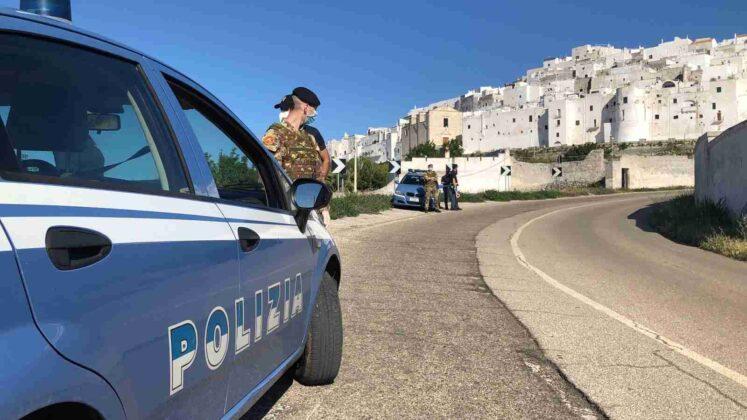 Controlli serrati della Polizia nella Città Bianca