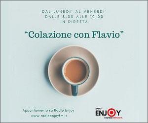 Colazione con Flavio in diretta su Radio Enjoy