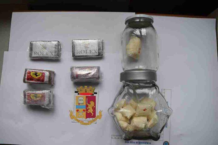 sequestro droga centro storico ostuni