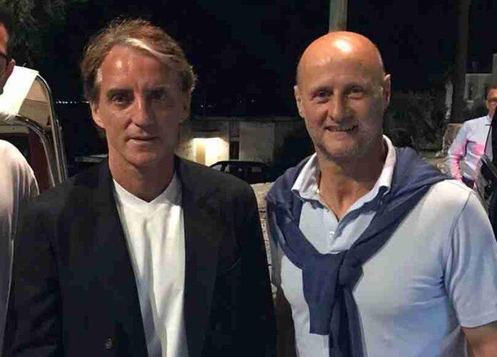 Roberto Mancini e Attilio Lombardo a Ostuni