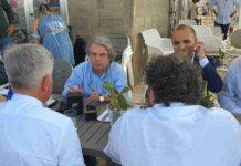 Giovanni Epifani incontra Ministro Brunetta Villanova estate 2021