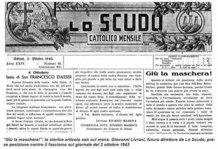 lo scudo ostuni 3 ottobre 1943