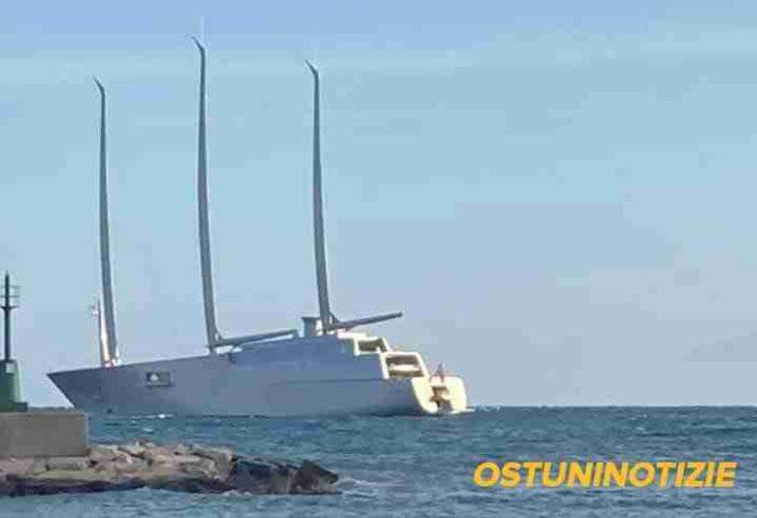 Ad Ostuni lo Yacht A