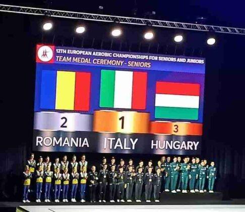 Italia Campionati Europei Ginnastica