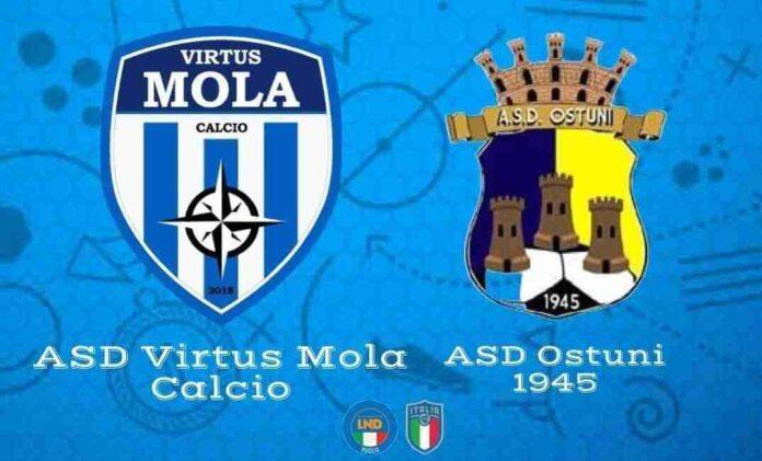 Virtus Mola vs Ostuni Coppa Italia 2021
